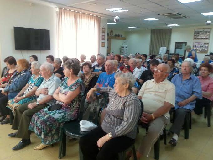 פעילות לקשישים