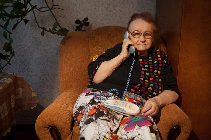טלפון לכבדי שמיעה וקשישים